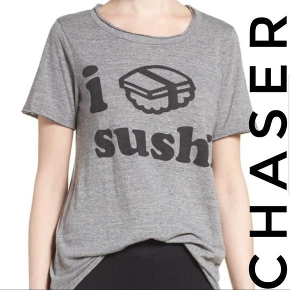 Chaser Clothing Grey Virgin Short Sleeve Tee